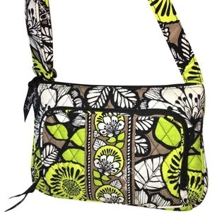 VERA BRADLEY LITTLE HIPSTER XBody CITRON NEW!
